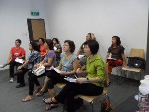 Meridian Massage Workshop Nov 2011 Participants